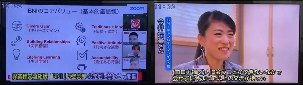BNI CANVASオンライン(広島)の発足がメディアに掲載されました!