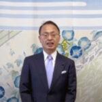 山野之義 金沢市長よりお祝いのお言葉をいただきました。